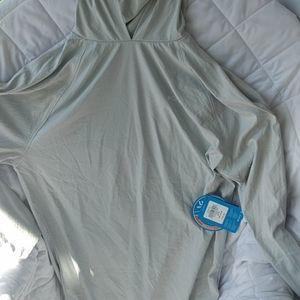 Columbia PFG hooded shirt upf 50 mens sz S